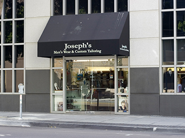 Joseph's Men's Wear & Custom Tailoring Store Front