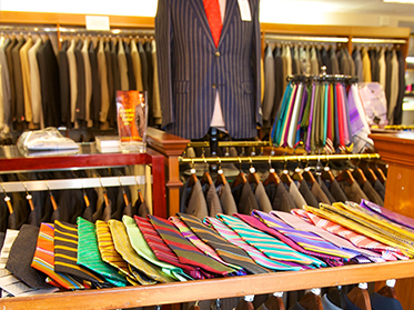 shirts, ties, and suits